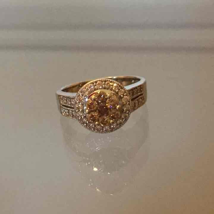 Champagne Diamond Ring - Mercari: Anyone can buy & sell