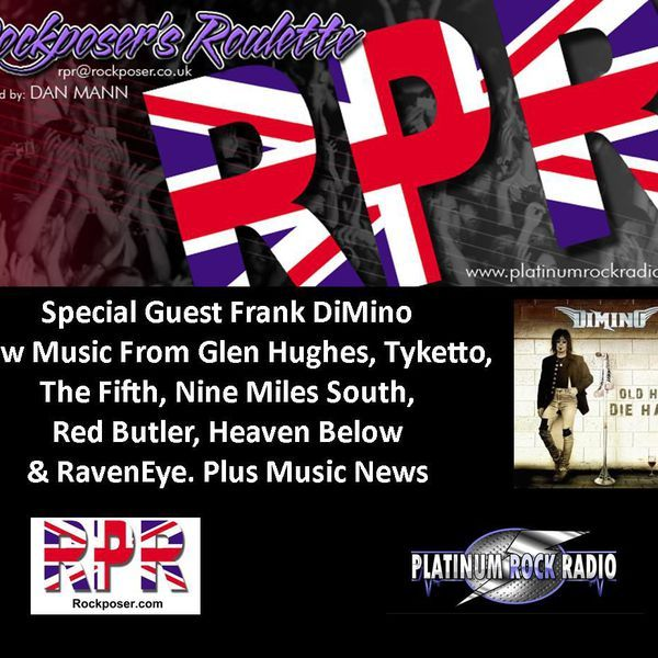 """Check out """"Dan Mann - Rockposer's Roulette Radio Show With Frank DiMino"""" by Platinum Rock Radio on Mixcloud"""