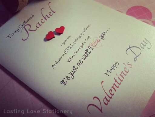 Valentines Card for her