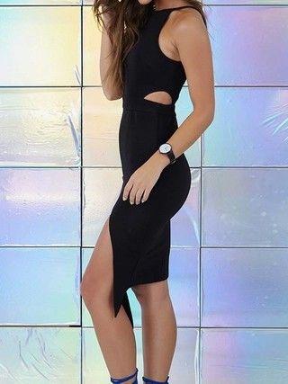 Vestido com Recorte na Cintura - Ref.993 - comprar online