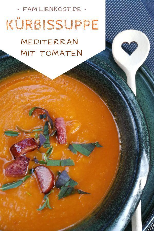 Kürbis-Tomaten-Suppe – Beikost, Babybrei & BLW – breirezept.de