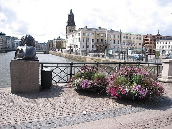 Gothenburg, Sweden. Born there 1978. Lived there for the first nine months of my live.