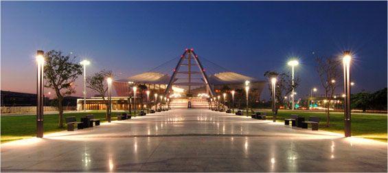 Entrance to the Moses Mabhida Stadium, Durban - South Africa