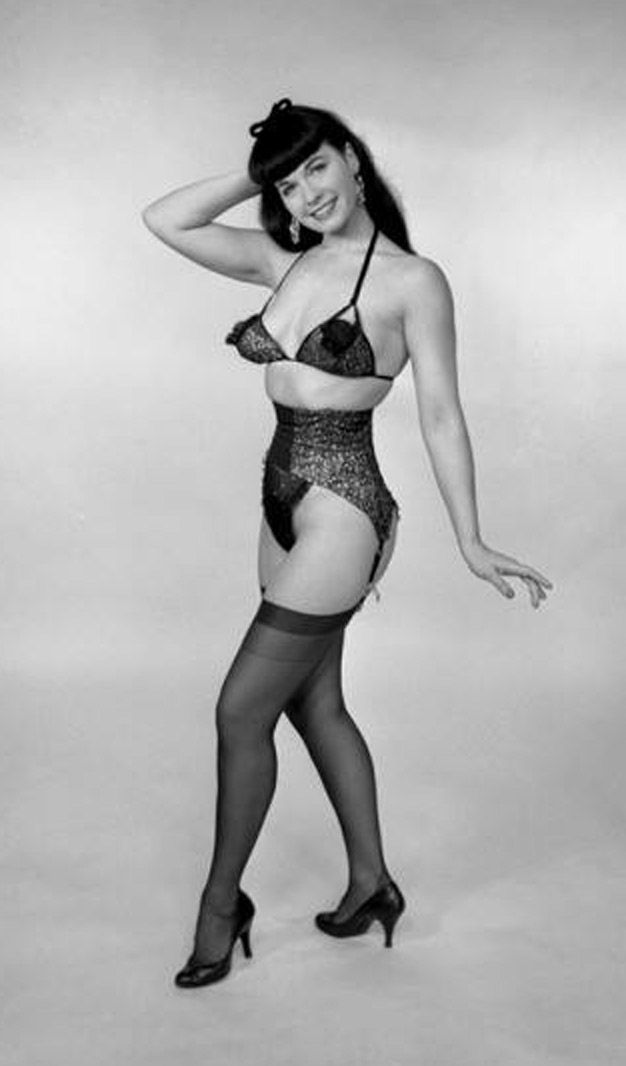 Betty Page Photos: 17 Best Images About ♡ Bettie Page ♡ On Pinterest