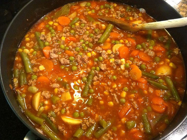My Mom's V-8 Soup! 1 Cup = 4 Weight Watcher PointsPlus! So easy and so good!