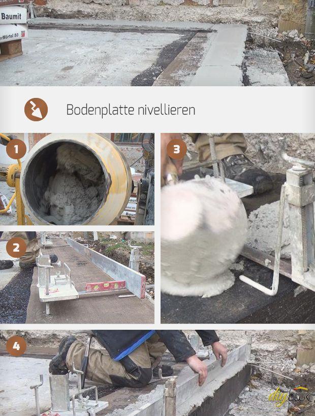 Das Nivellieren der Bodenplatte, ist bei der Verarbeitung von Planziegel Pflicht. Dieser Artikel erklärt die wichtigsten Schritte beim Bodenplatte nivellieren.