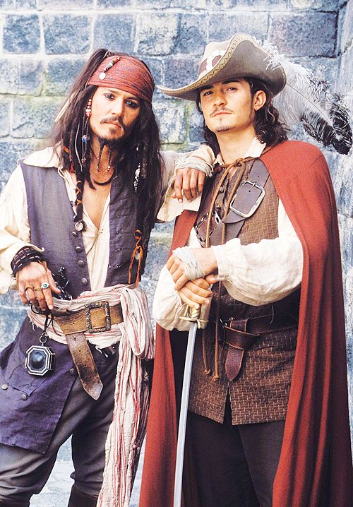 """You seem somewhat familiar. Have I threatened you before?"" ""I make a point of avoiding familiarity with pirates."" -Captain Jack Sparrow and Will Turner, ""Pirates of the Caribbean: The Curse of the Black Pearl"""