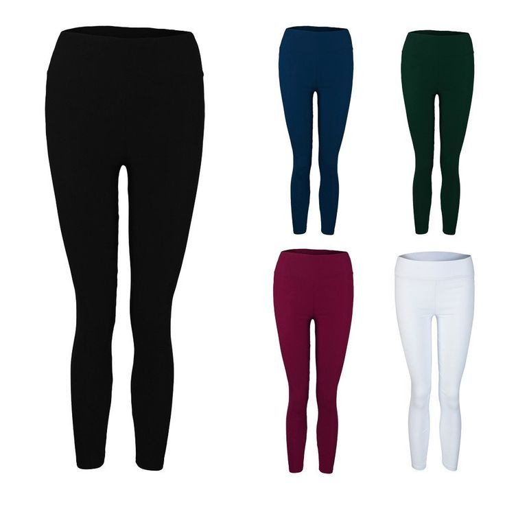 Leggings ajustados a la cintura Stretch