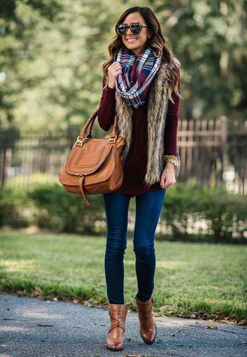 Pin do(a) Karolina Santana em t de 2019 | Pinterest | Colete de inverno, Moda inverno e Look com colete