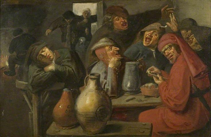 Maître des grandes jarres (Master of the Large Jars) est un artiste-peintre non-identifié, actif au xviie siècle aux Pays-Bas.  Cette personnalité a été créée par l'historien d'art Gerard Knuttel dans son livre sur Adriaen Brouwer (cf. p. 29, 31, 176-78). Ses caractéristiques sont: la présence de jarres, une certaine maladresse et un géométrisation des formes(ca.1635).jpg (944×616)
