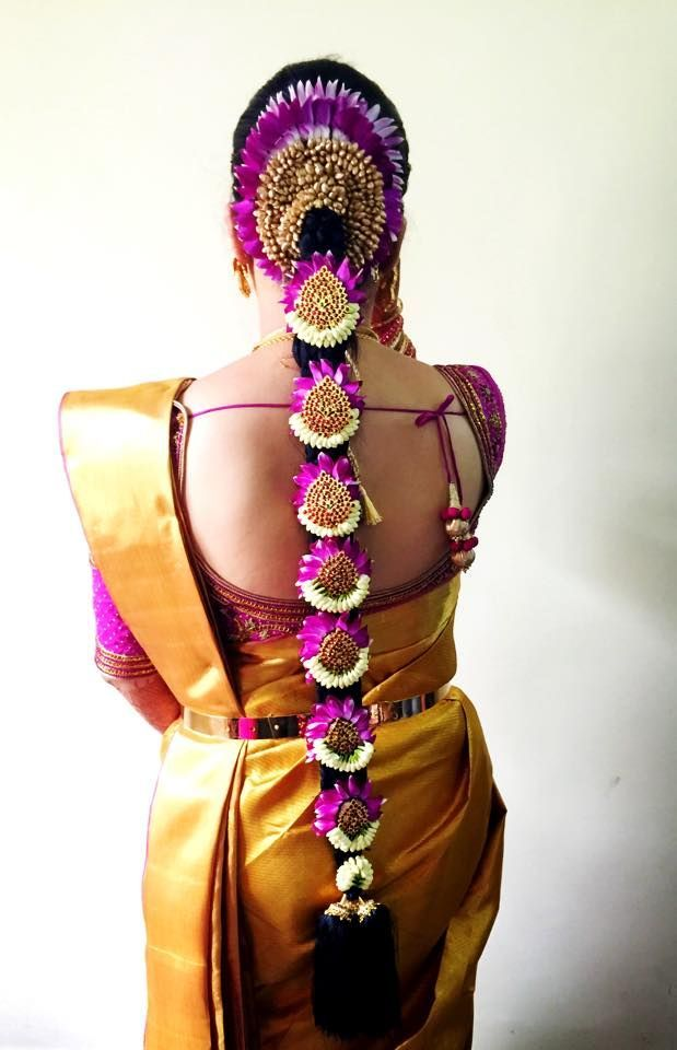 South Indian Bridal Hairstyles for Muhurtham #SouthIndianBridalHairstyle #BridalHairstyle
