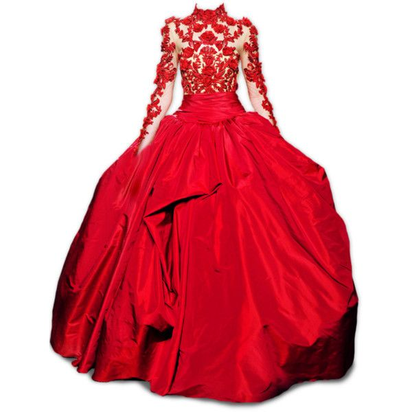 Untitled ❤ liked on Polyvore featuring dresses, gowns, long dresses, vestidos, red, marchesa evening gowns, long red dress, marchesa evening dresses and long red evening dress