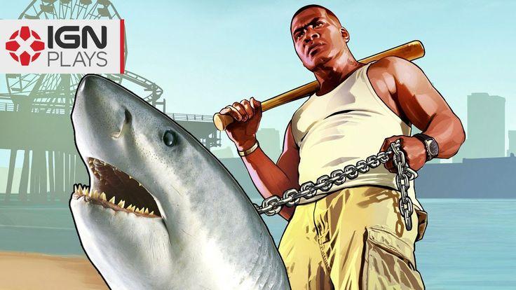 Pet Shark Mod in GTA 5 - IGN Plays