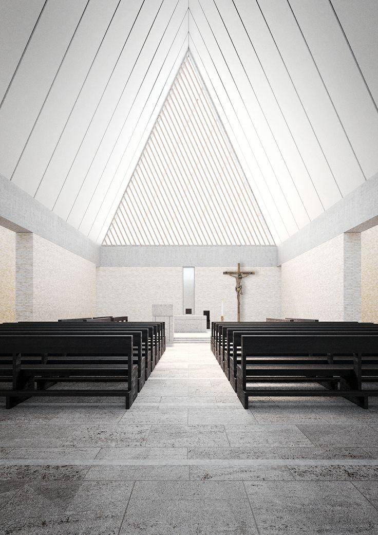 Church Interior Architecture Pinterest