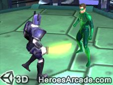 Green Lantern Emerald Adventures is a cool 3D Green Lantern game to play online for free. In this 3D Unity game, you can play 8 missions in space and on different planets where you have to defeat the bad guys. Play as Hal or Kilowog and start the adventure as a member of the Green Lantern Corps. Your mission is to defeat all the bad guys and become a guardian of the universe. Emerald Adventures is one of the first Green Lantern games developed in 3D, to excite the fans and costumers that…