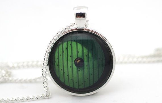 Hobbit Door Necklace Lord of the Rings Jewelry by BeneathGlass, $11.90