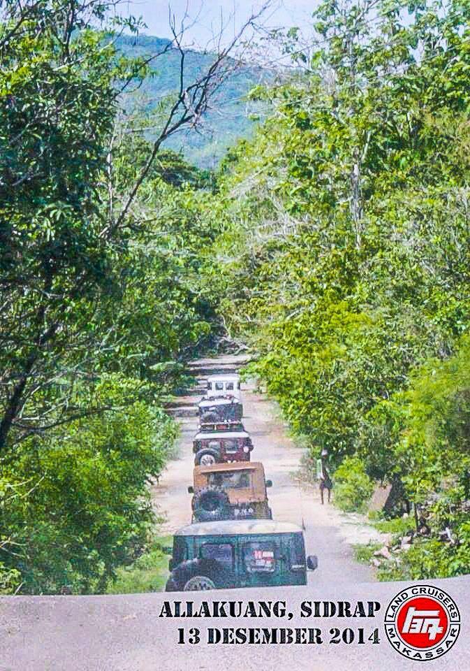 Long trip to Allakuang, Sidrap