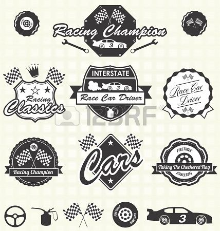 98 best racing images on Pinterest | Logos, Cars and Logo templates