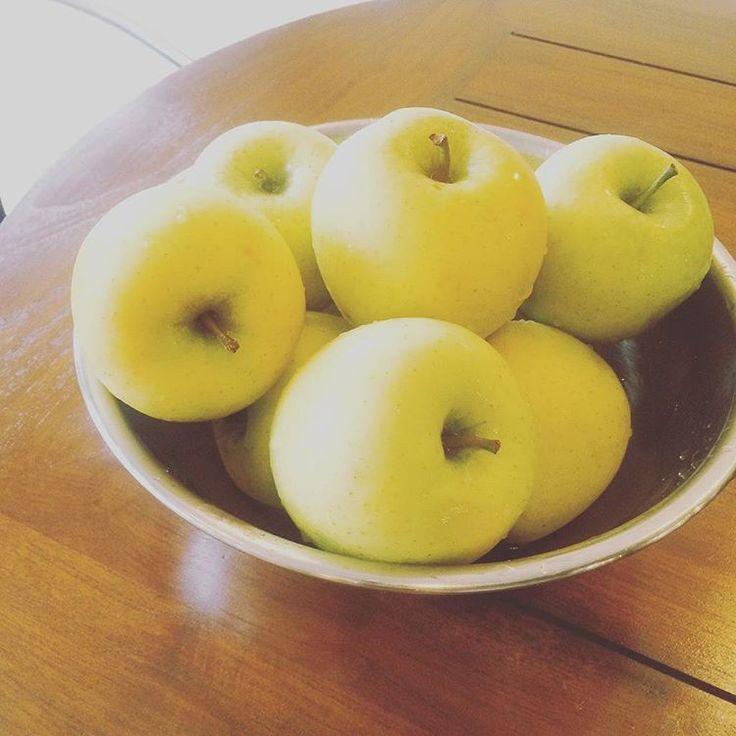 Good morning. We are going to bake a vegan apple pie today. Hope you like it! おはようございます。 11月もあと少しですね。だんだんと冬が近づいてきました🍂今日は特別栽培のシナノゴールドを使ってapple pieを作りますよ。上手く出来るかな♬