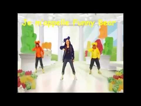 ▶ Je m'appelle Funny Bear - French Lyrics - YouTube