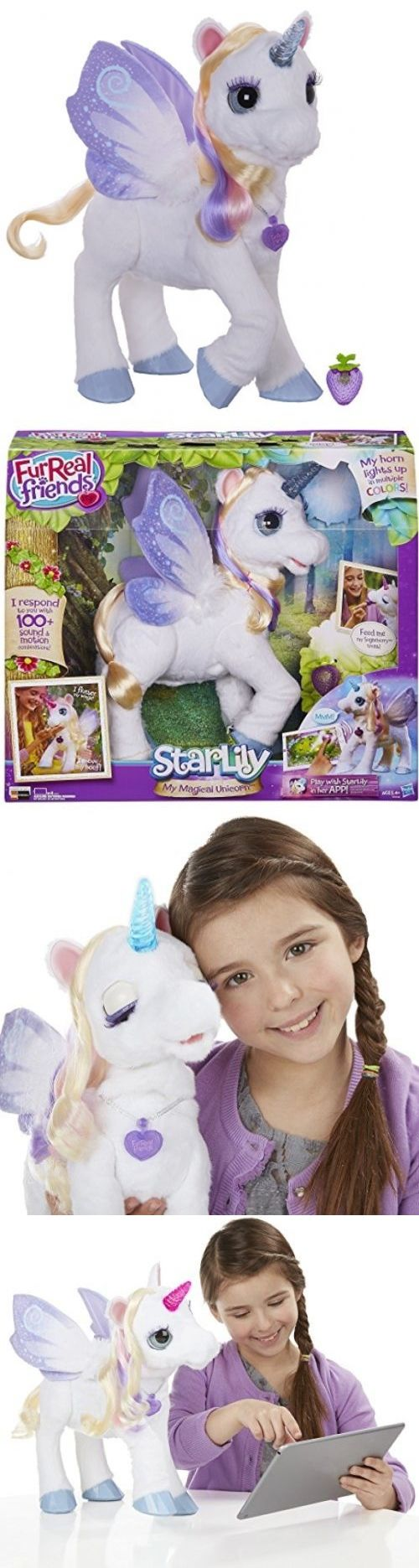 FurReal Friends 38288: Furreal Friends Starlily, My Magical Unicorn - New, Fast Shipping -> BUY IT NOW ONLY: $119.39 on eBay!