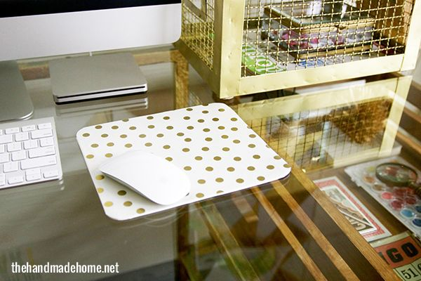 make your own mouse pad | the handmade home