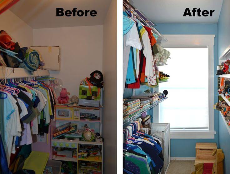 Kid's Closet Remodel Reveal