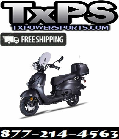 Amigo Znen 2017 ZN150T-H BLACKOUT 149cc Street Legal Scooter, 4 Stroke Air Cooled Free Shipping Sale Price: $2,299.00