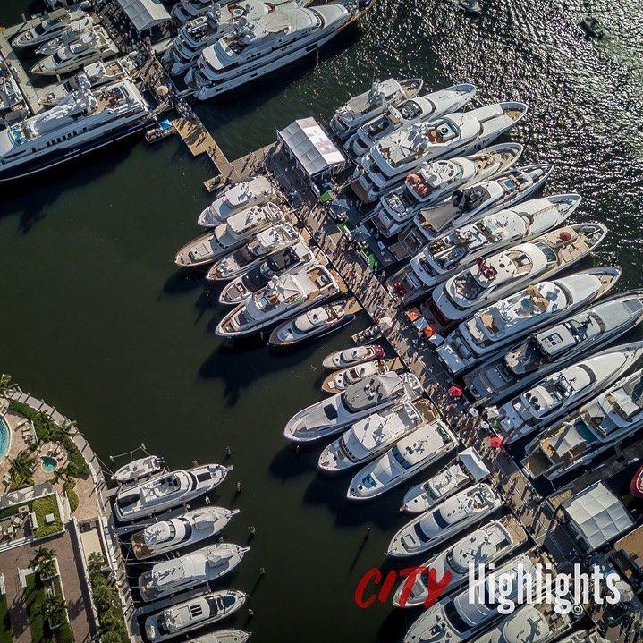 A Perfect Sunny Day At The Fort Lauderdale International Boat Show Fortlauderdale Florida 954 Yacht Boat Boating Fort Lauderdale Lauderdale Florida