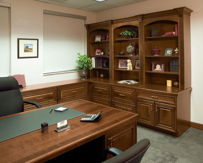 8 best the kraftmaid office images on pinterest home - Home office cabinet design ideas ...