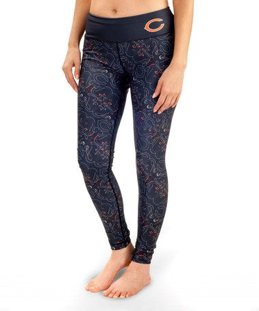 This Chicago Bears Leggings - Women by Forever Collectibles is perfect! #zulilyfinds