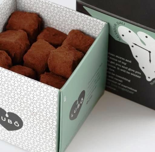 Sweet Stories, Love Letters on every LUBO box, on every Chic & Go LUBO