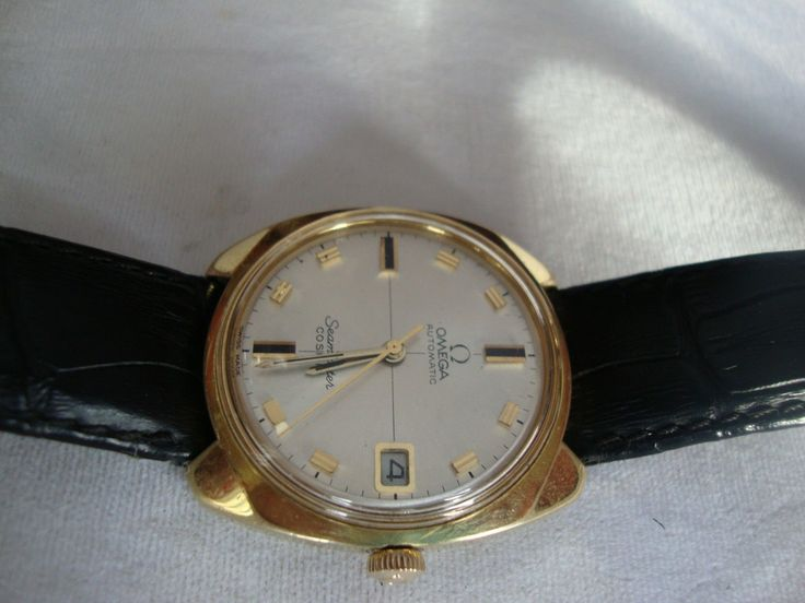 VINTAGE OMEGA AUTOMATIC SEAMASTER COSMIC,DATE,CAL 565,REF.166.022 SWISS 1967