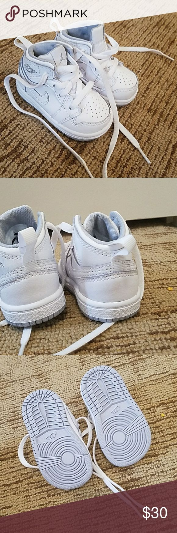 Air jordans All white grey bottoms Jordan Shoes Sneakers
