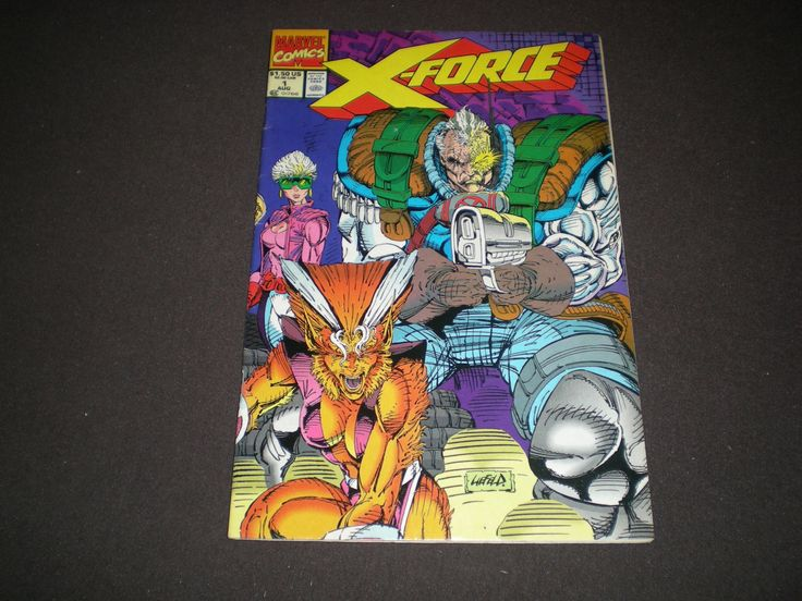 X-Force 1, 2, (1991), 2nd App Deadpool, Weapon X App, Marvel Comics by HeroesRealm on Etsy