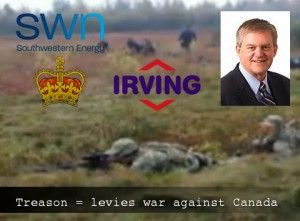 RCMP supported by armed U.S. infiltrators attack First Nations Canadians to cover up Enviroment Canada raid of Irving Oil Canaport | Politic...