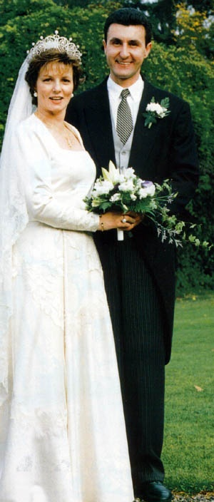Princess Margarita and Prince Radu of Romania's wedding 1996