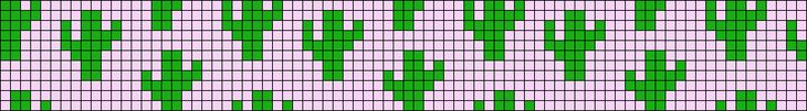 A cute tiny cactus pattern that is perfect for making knotted and beaded jewelry, but can be used in any project using a charted pattern.   Uses include : cross stitch, crochet, knitting motifs, knotting, loom beading, Perler beading, weaving and tapestry design, pixel art, micro macrame, friendship bracelets, and anything involving the use of a charted pattern.