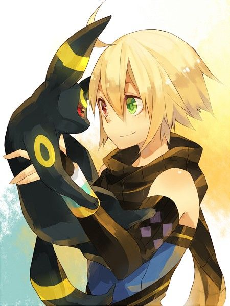 Emil and Umbreon