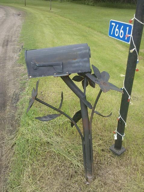 Awesome mailbox, Sabin, Minnesota by Hobo Matt, via Flickr