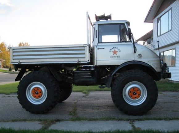 1974 Mercedes Benz UNIMOG 406 4x4 For Sale Side