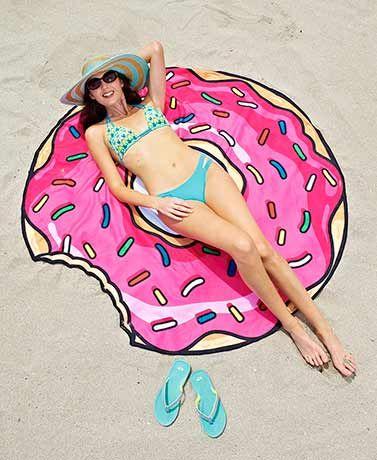 Humorous Giant-Sized Beach Blankets