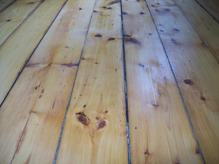 naked wood floor