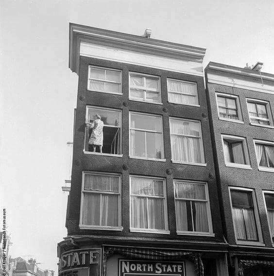Haarlemmerstraat hoek buiten brouwersstraat