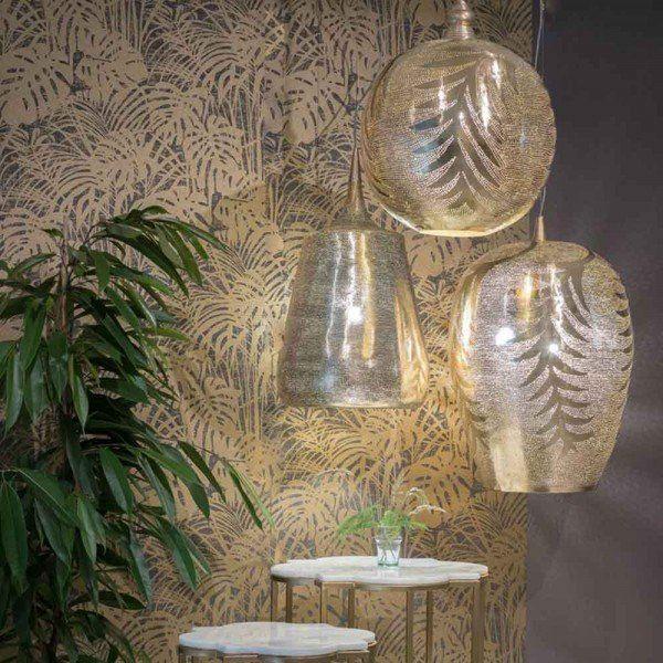 Orientalische Lampe Badar Gold Orient Lampe Orientalische Lampen Orientalisches Design