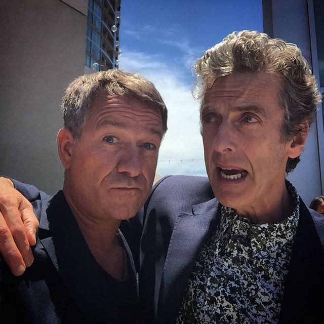 The delightful talented Mr Peter Capaldi #DrWho #ComicCon