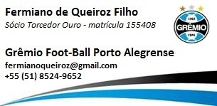 Grêmio Foot-Ball Porto Alegrense - Sócio Torcedor Ouro - 155408