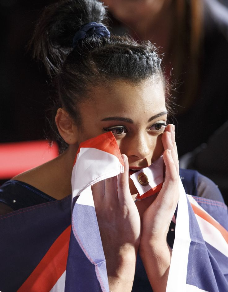 Ellie Downie, Team GB, World Championships, Glasgow 2015