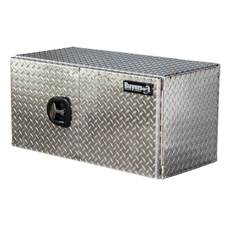 Buyers Aluminum Double Barn-Door Underbody Tool Box - 17052