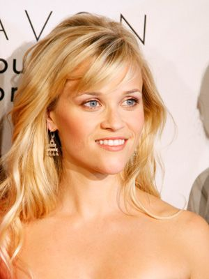 Soft, side-swept bangs accentuate your eyes and draw the focus away from a pointy chin.